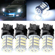4X For Car Turn Signal Parking Light 3156 45-SMD 3056 4156 3528 White LED bulbs