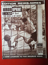 09/11/1959 miroir sprint n°701 FOOTBALL REIMS NIMES CYCLISME VAN LOOY