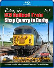 Riding the DCR Ballast Train - Shap Quarry to Derby. Cab Ride. *Blu-ray*
