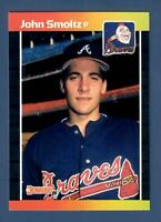 1989 Donruss #642 John Smoltz Rookie RC Atlanta Braves