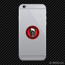 God Will Judge Our Enemies We'll Arrange The Meeting Cell Phone Sticker Mobile 2