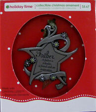 """Very Cute Christmas Ornament """"Father"""" (C-25)"""