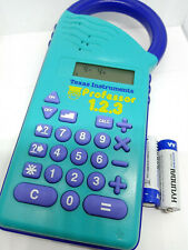 Texas Instruments TI Professor 1.2.3 Math Reverse Calculator Educational Toy