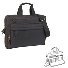 Organizer Portfolio Bags Suitcase Case Shoulder Strap Multi Pockets Zippered 15""