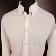 Gaastra Mens Shirt Nautical XXL Long Sleeve White Regular Fit  Cotton