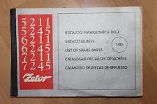Katalog - Ersatzteilliste  ZETOR