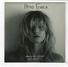(FY392) Hero Fisher, Break My Heart And Mend It - 2015 DJ CD