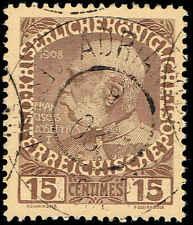Scott # 17 - 1908 - ' Franz Josef '