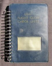 1966 T-33A Checklist - 7101 Air Base Wing Wiesbaden AFB, Germany - Shooting Star
