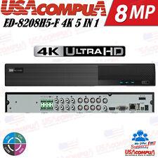 8 Channel 4K H.265 Titanium 8CH 5-IN-1 Hybrid DVR