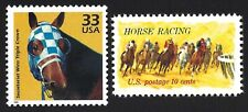 SECRETARIAT Triple Crown HORSE RACING Kentucky Derby 2 Stamps Set MINT CONDITION