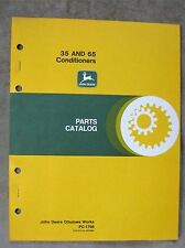 John Deere 35 65 Series Hay Conditioner Parts Catalog Manual