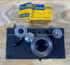 "Argus C-3 ""The Brick"" 35mm Rangefinder Camera 50mm Cintar Lens  Read Seacriptoon"