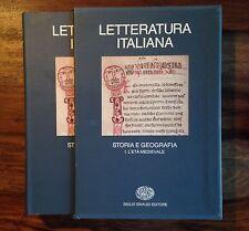 Letteratura italiana. Storia e geografia. Vol. 1, L'età medievale (ASOR Rosa)