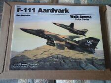 SQUADRON SIGNAL WALK AROUND COLOR SERIES N.5557 F-111 AARDVARK-BY KEN NEUBECK-