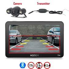 XGODY 7 Zoll 8G Auto GPS Navigationsgerät Bluetooth POI+Drahtlose Rückfahrkamera
