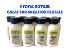 J.R. Watkins Hand & Body Lotion .75 fl oz 9 Bottles Vacation Rental Hotel Lotion