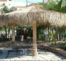 Palapa Mexico Palm Leaf Thatch 9' Round Umbrella Cover Comm Grade Tiki Bar