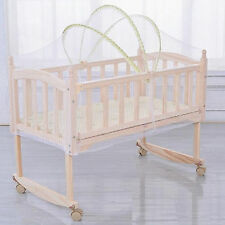 Insect Cover Mosquito net for 120cm x 60cm Baby Cot Bed Accessory