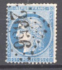 FRANCE  N° 60 GC 2656 NICE, ALPES MARITIMES. Point bleu dans le cadre droit. TB.