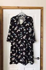 NEW CATH KIDSTON DISNEY SNOW WHITE SCATTERED BLOSSOM SHIRT DRESS  UK 12 BNWT