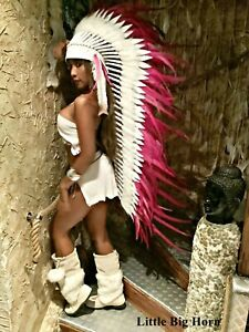 War bonnet Indian Headdress Wakatobi Little Big Horn Coiffe Indienne Federhaube