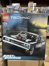 LEGO 42111 Technic Fast & Furious Dom's Dodge Charger, Sealed, NEW IN HAND!