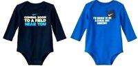 Nike Infant Boys Long Sleeve Bodysuit Shirt  NWT 0-3M  3-6M  6-9M or 9-12 Month