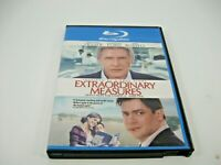 EXTRAORDINARY MEASURES BLURAY DVD (GENTLY PREOWNED)