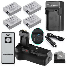 BG-E8 Battery Grip for Canon 550D 600D T5i T4i T3i T2i +4 LP-E8 Battery +Charger