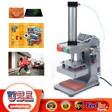 300w Hot Foil Stamping Machine 10x15cm Leather Bronzing Pressure Mark Machine