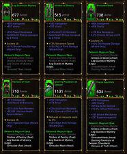 Diablo 3 RoS PS4 [SOFTCORE] - Delsere's Magnum Opus Wizard Set [Ancient]