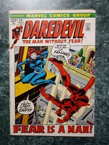 Daredevil 90 VG OW2C (MARVEL COMICS) Black Widow *I COMBINE SHIPPING*
