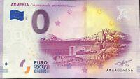 BILLET 0 EURO ARMENIA MOUNT ARARAT  2019-1  NUMERO DIVERS