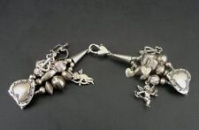 PTG Hearts Charms Beads Cupid Sterling 925 Silver Bracelet Watch Band