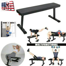 Power Block Weight  Sit Up Bench Flat Crunch Board AB Abdominal Fitness Foldable