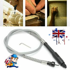 Universal Flexible Flex Shaft Chuck For Dremel Electric Grinder Rotary Tool UK