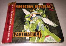 Linkin Park 2002 Reanimation Taiwan Limited Edition Red OBI CD with Promo Poster