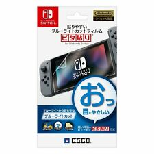 Screen Protect Film Hori for Nintendo Switch Official item Blue Light Cut Japan