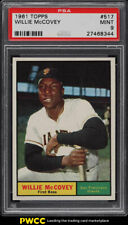 1961 Topps Willie McCovey #517 PSA 9 MINT (PWCC)