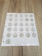 Classic Coin Album Pages for 10p Alphabet Coin Collections From Royal Mint