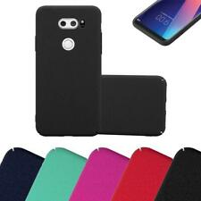 Hard Cover for LG V30 Shock Proof Case Frosty Mat Rigid TPU