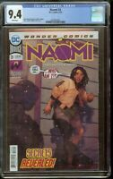 Naomi #3 CGC 9.4 White Pages 2042653002
