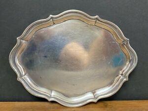 Antique Georgian British Silver Piecrust Border Tea Pot Stand Stephen Adams 1800