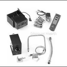 Safety Pilot Valve & On/Off & Hi/Lo Remote Vented Gas Logs Fireplace Ng Lp