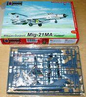 MiG-21 MA Fishbed (5x camo) in 1/72 von KPM