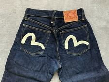 Evisu Jeans Men 30 Selvedge Genuine