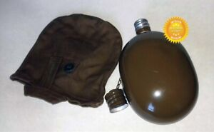 Water Flask USSR Soviet Military Bottle Dated USSR Russian Army Original Canteen