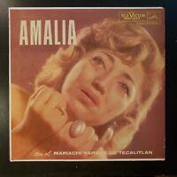 """Amalia Mendoza con el Mariachi Vargas de Tecalitlan """"Vol III"""" Vinyl Record LP"""