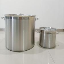 6-115 Liter Kochtopf Edelstahl Gastro Universaltopf Kochtopf Suppentopf